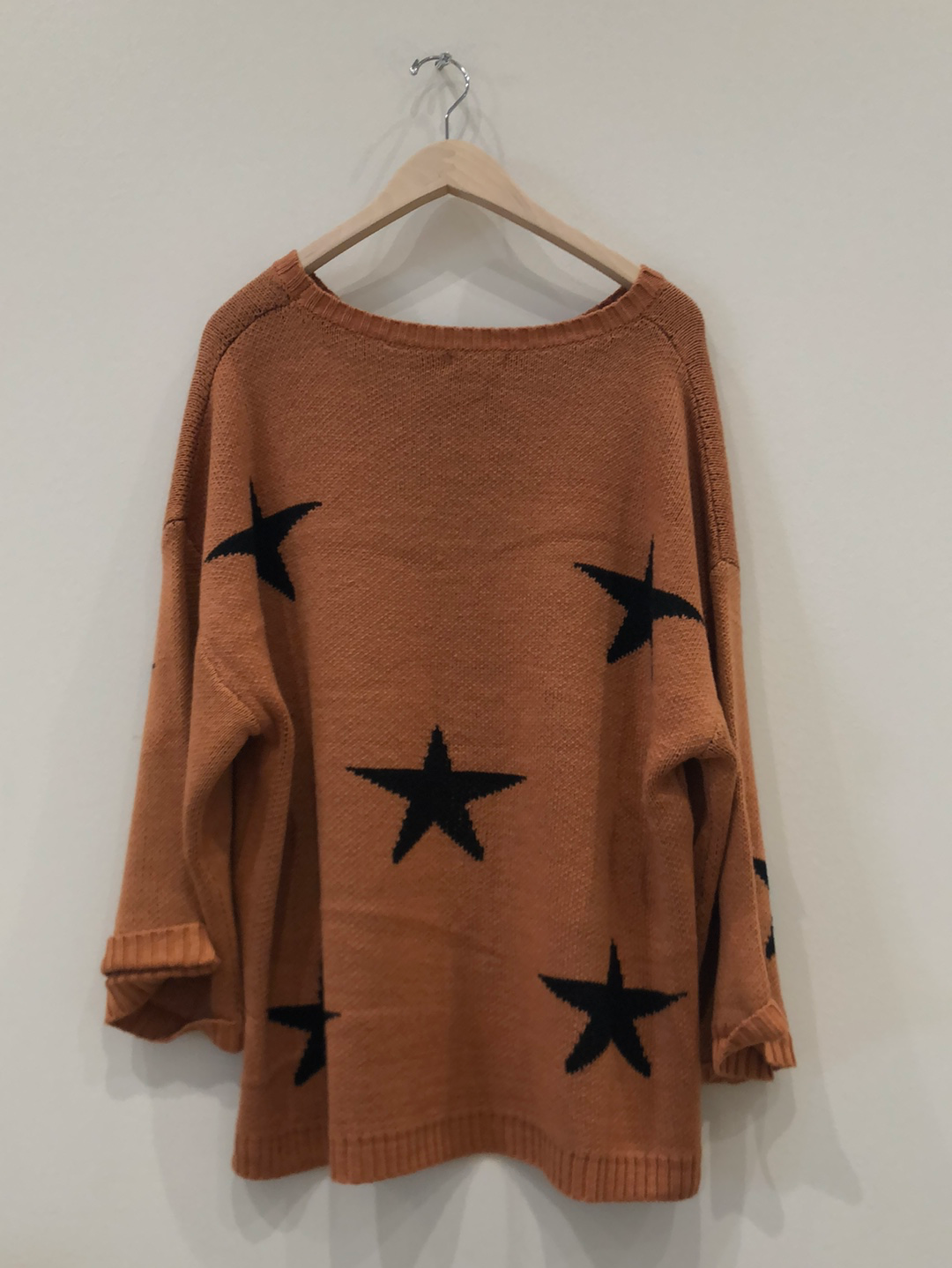 Clay Star Sweater (Available Straight + Plus)