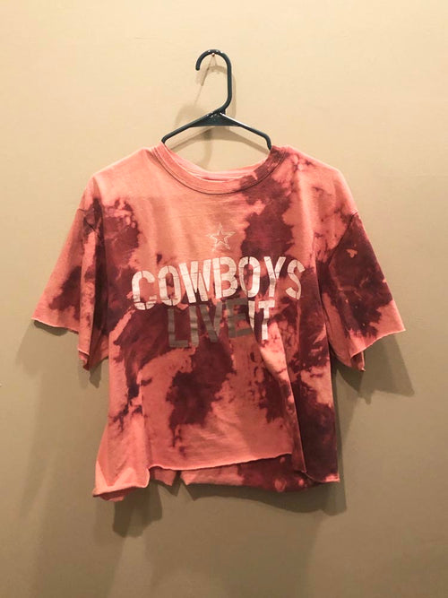 Cowboys Live It Tee