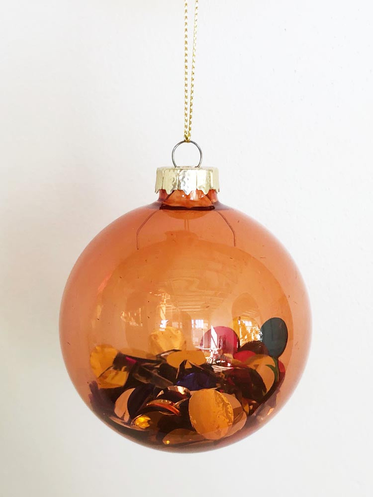 Confetti Ornament Sunset