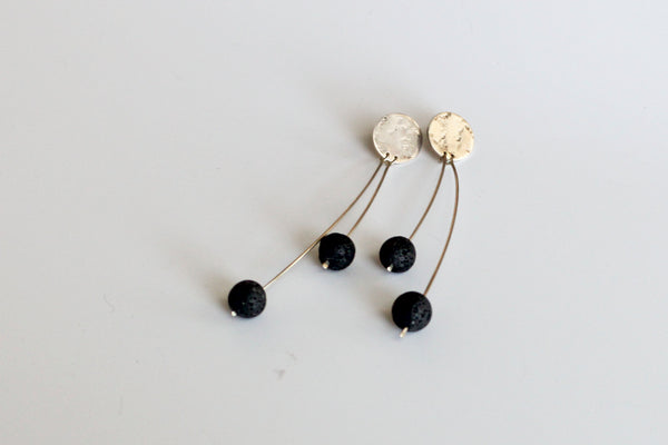 Volcanic Rock Aromatherapy Earrings