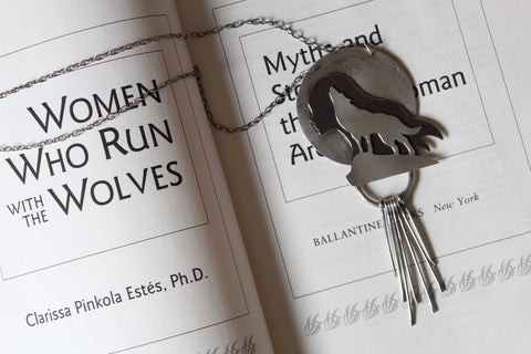 Women Who Run With The Wolves Necklace