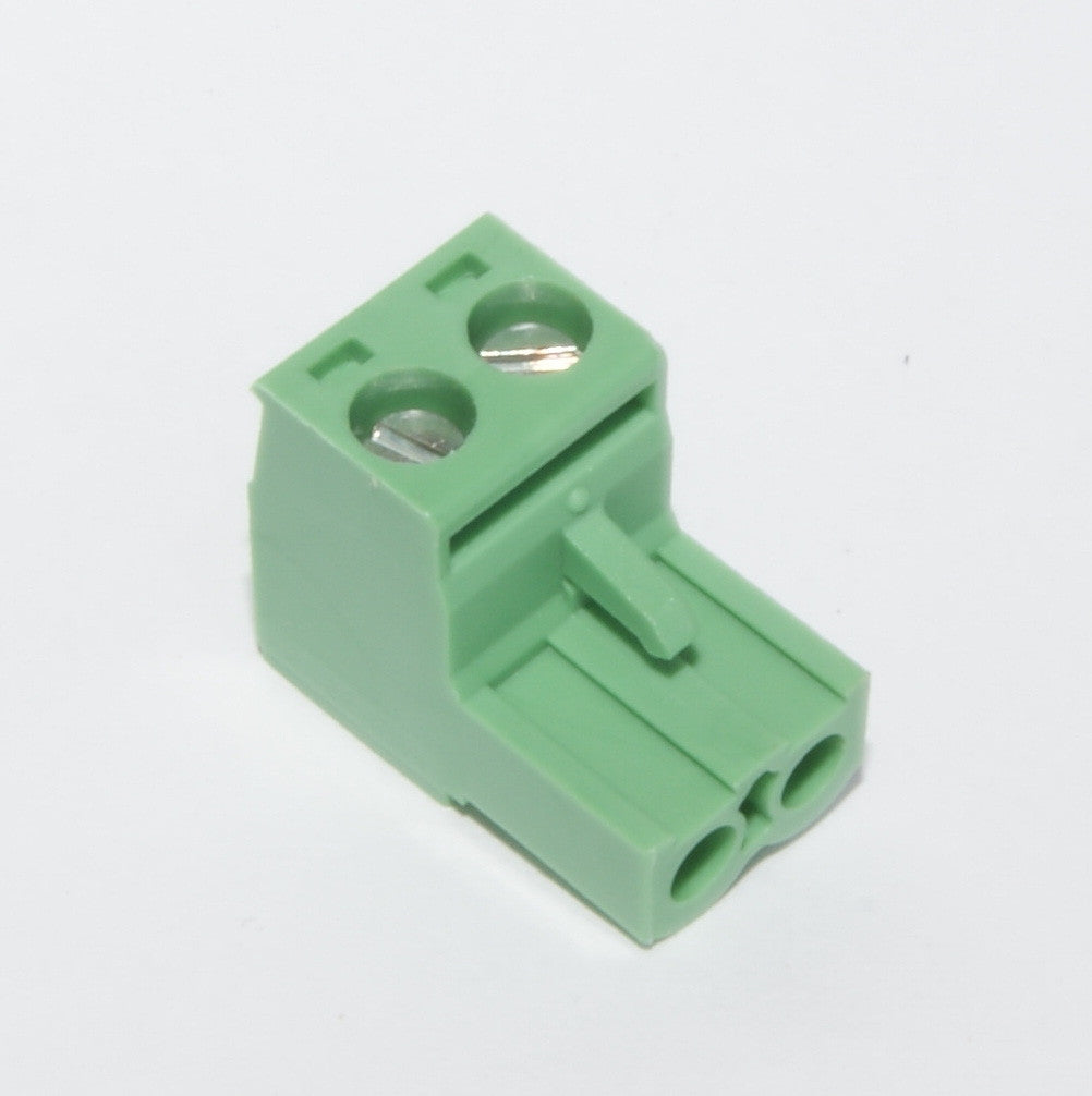 Pluggable Terminal Block, 2 contacts 5.08mm (green)