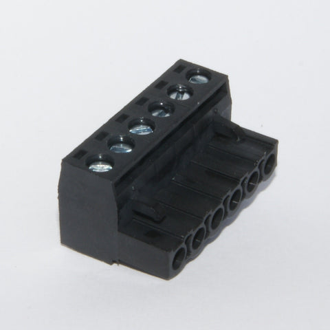 Pluggable Terminal Block, 6 contacts 5.08mm (black)