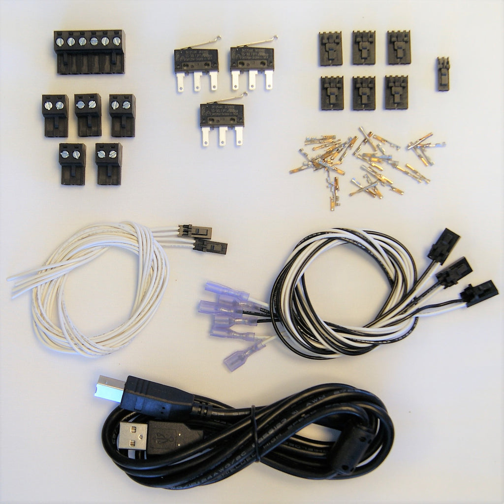 Rambo 14 Ultimachine Logic Computer Wire Harness Complete Kit Accessories Mechanical Endstops