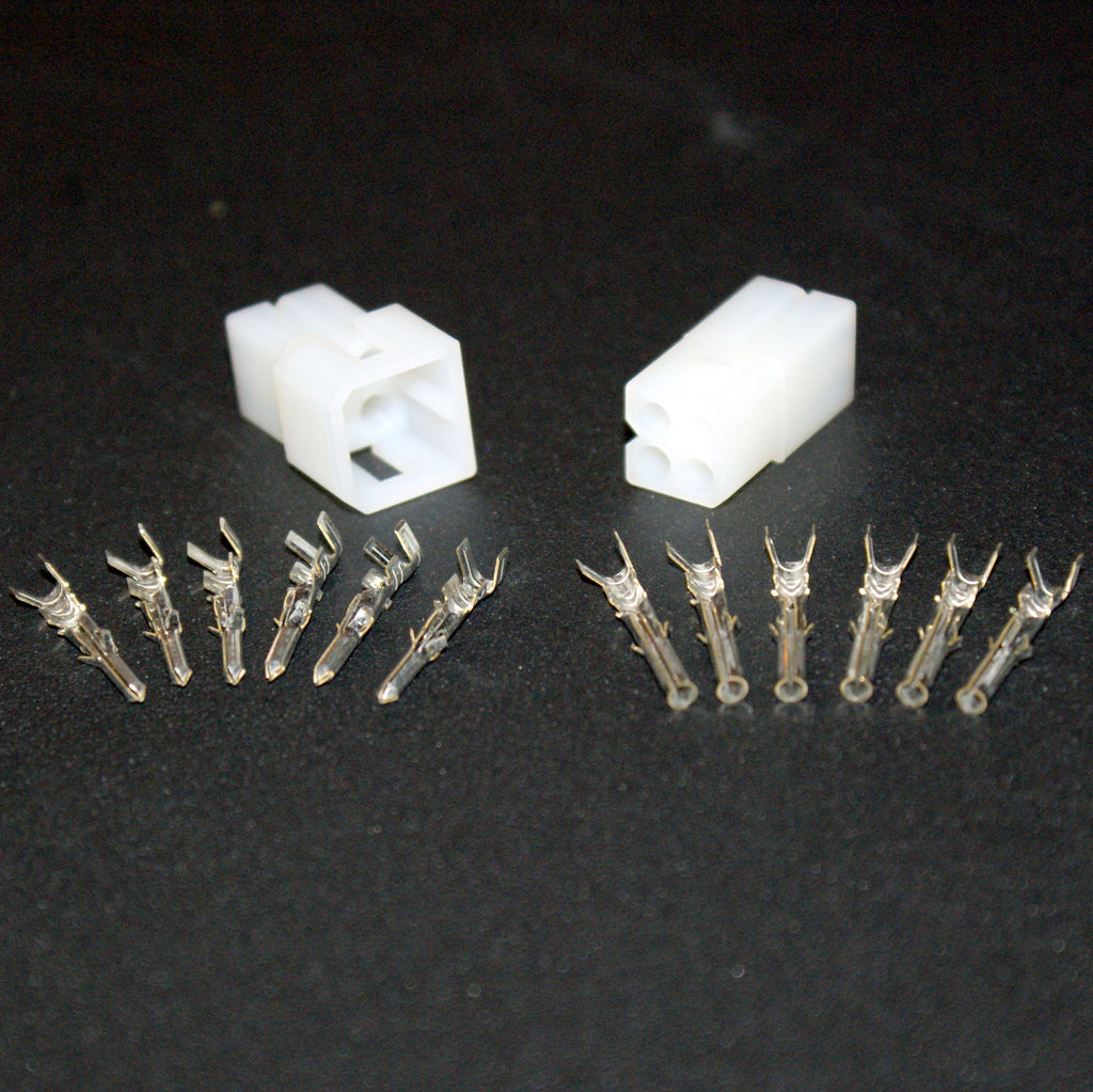 Molex 4 Pin Plug & Socket Connector Kit