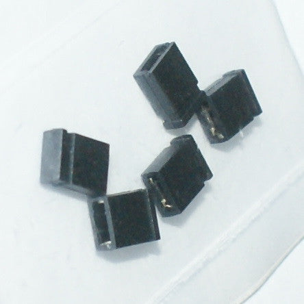 Shorting (Jumper) Block 2.54mm- 25 pack