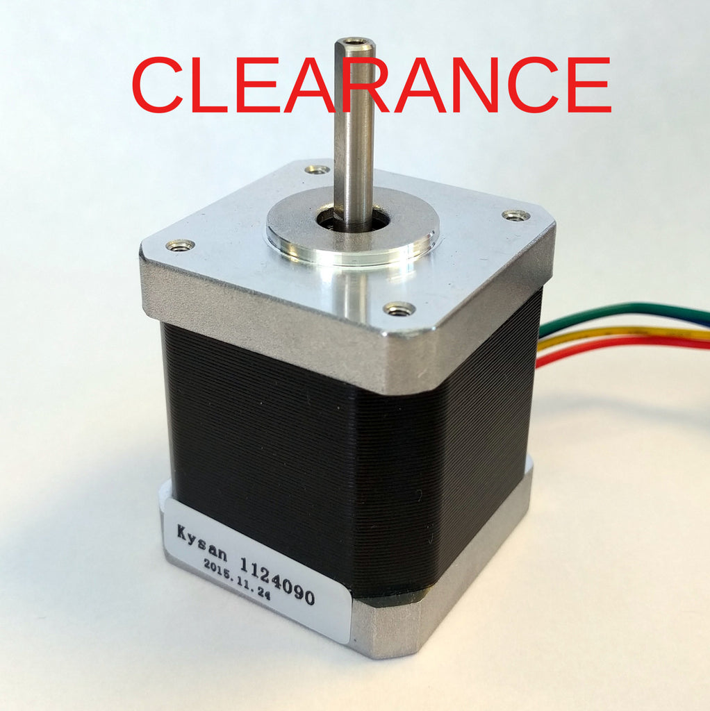 Kysan 1124090 Nema 17 Stepper Motor *Wrong Casing, No Connector* CLEARANCE
