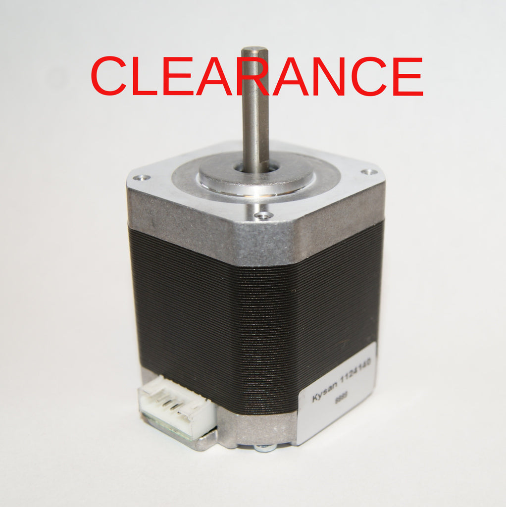 Kysan 1124140 Nema 17 Stepper Motor, No Wire Harness *Scratches/Dings* CLEARANCE