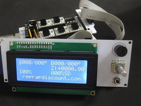 LCD Smart Controller Kit from Reprapdiscount