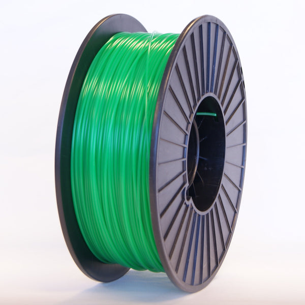 PLA - Green Translucent - 3D Printer Filament