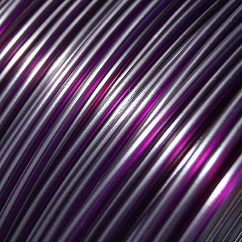 PLA - Purple Translucent - 3D Printer Filament