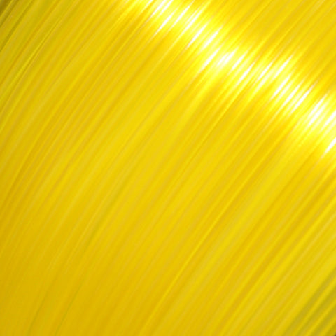 PLA - Yellow Translucent - 3D Printer Filament