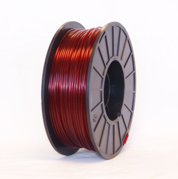 PLA - Ruby Red Translucent - 3D Printer Filament