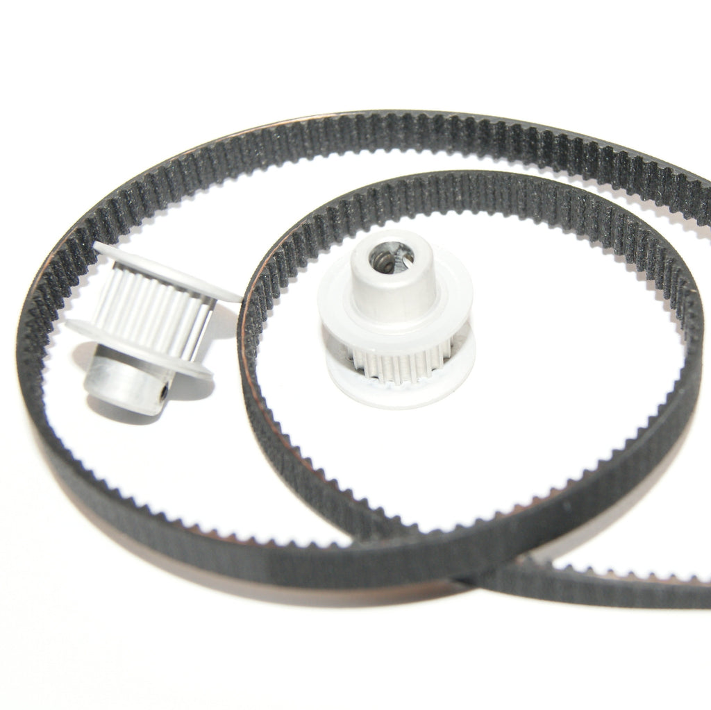 Timing Pulleys And Belts : Timing belt pulley gt kit ultimachine