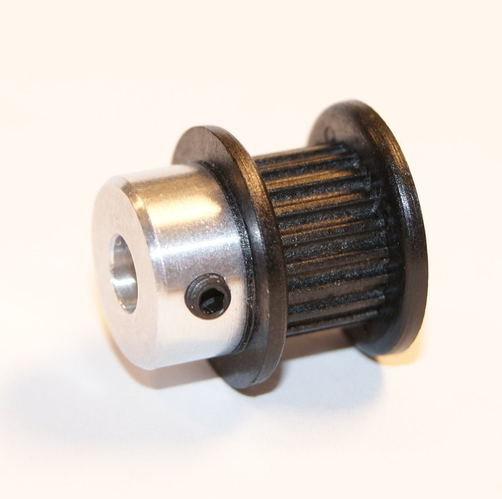 Timing Pulley, GT2, 20 Tooth, Plastic