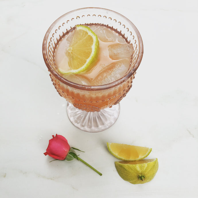 Björn's Honey Rose Petal Lemonade