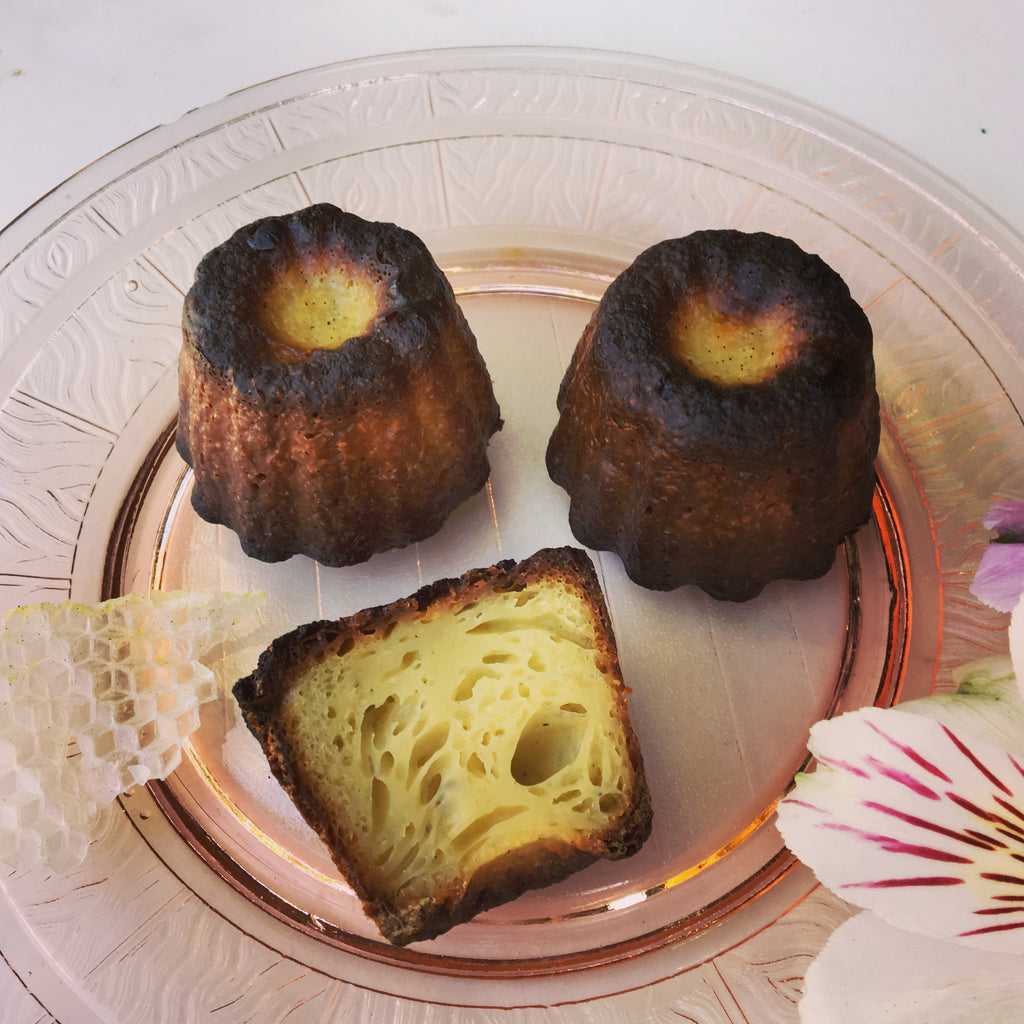 Canelés de Bordeaux using Björn's Beeswax in the Molds