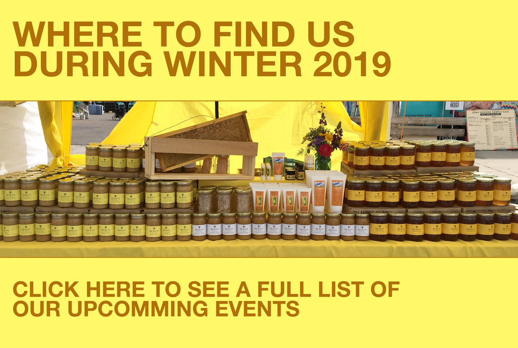 Where You Can Find us During the Winter (2019)