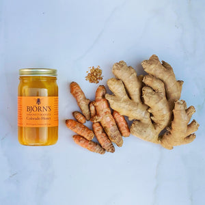 Immunity-Booster Honey With Propolis, Turmeric & Ginger