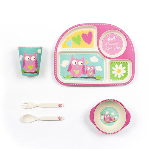 Tiny Footprint Square Dinner Set (5pcs)