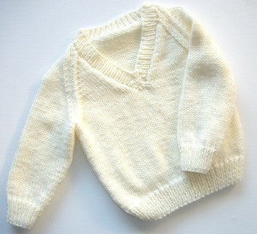 Jumper 7 - Hand Knitted LAST ONE IN THIS STYLE & COLOUR