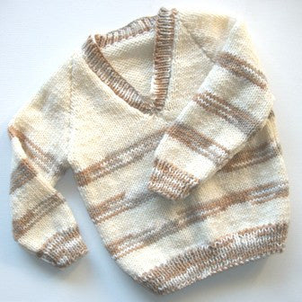 Jumper 11 - Hand Knitted LAST ONE IN THIS STYLE & COLOUR