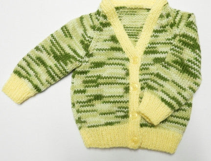 Cardigan 16 - Hand Knitted LAST ONE IN THIS STYLE & COLOUR