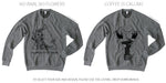 PRE-ORDER | HEATHER GREY CREW NECK SWEATSHIRT - Grins & Grace