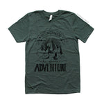 """MOTHERHOOD: THE GREATEST ADVENTURE"" MOM T-SHIRT"
