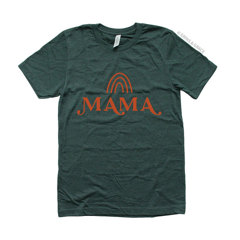 """RAINBOW MAMA"" MOM T-SHIRT 