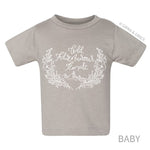 """WILD ADVENTUROUS FEMALE"" BABY + CHILD T-SHIRT"