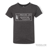 """MINIATURE ADVENTURE SEEKER"" BABY + CHILD T-SHIRT"