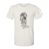 """THE WILDNESS OF A MOTHER'S HEART"" UNISEX T-SHIRT"