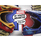 Fox Racing 2016 Marvel V1 Youth Off-Road Motorcycle Helmets Collection