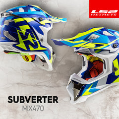 LS2 MX 2018 | The Subverter MX470 Off-Road Helmets