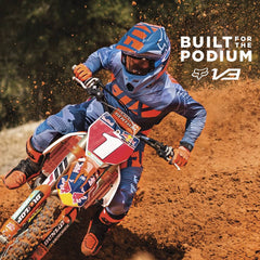 Fox Racing 2016 Built for the Podium | Motocross V3 Helmet Overview