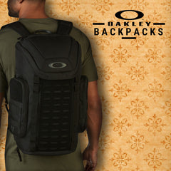 Oakley Fall 2017 Accessories | Mens Lifestyle Travel Backpacks