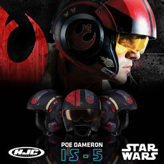 HJC Helmets 2018 | IS-5 Poe Dameron Helmet