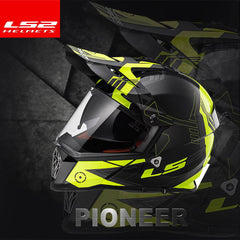 LS2 Off Road Pioneer Motocross Helmet | A Better Helmet for Less Cash
