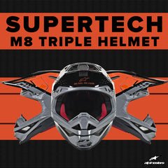 Alpinestars 2019 | Introducing the Supertech M8 Triple Off-road Helmet