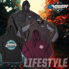 Answer Racing 2018 | Lifestyle Jackets and Hoodies Apparel Collection