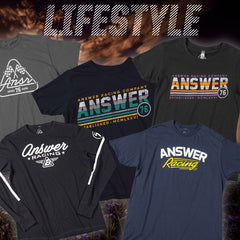 Answer Racing 2018 | Mens & Womens Moto Casual Shirts Collection