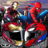 New HJC Marvel Super-heroes Street Helmets