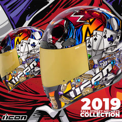 Icon Racing Fall 2019 Motorcycle Street Helmets Collection