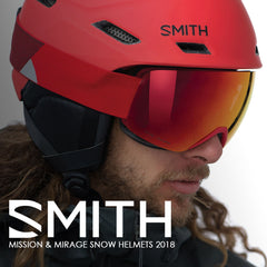 Smith Optics 2018 | Mission & Mirage Snow Helmets Collection