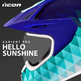 Icon Racing Variant Pro Hello Sunshine Motorcycle Helmet