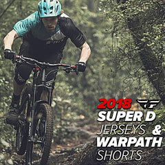 Fly Racing MTB 2018 | Super D & Warpath Mountain Bicycle Racewear