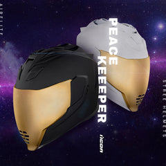 Icon Racing Airflite Peace Keeper Motorcycle Helmet Collection