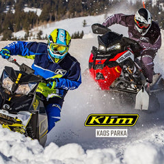 Klim 2017 | Kaos Parka Snowmobile Race Inspired