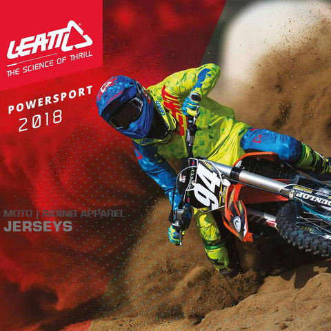Leatt MX 2018 | The Science of Thrill Powersport Jerseys